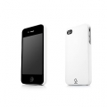 Capdase Karapace Protective Case Sove White for iPhone 4, 4S (KPIH4-S302)